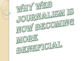 Factors Behind Web Journalism Success