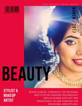 Sohni Juneja stylist & Beauty makeup artist in India