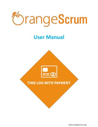Time Log with Payment Add on User Manual