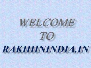 Rakhiinindia.in King of Fancy Rakhis