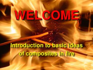 Composites in Fire 3 9-10 September, 2003