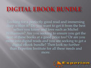 Digital eBook Bundle