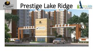 Prestige Lake Ridge Luxury Apartment Bangalore