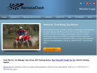 remote dash