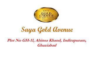 SAYA Gold Avenue Indirapuram Ghaziabad - 9266629901