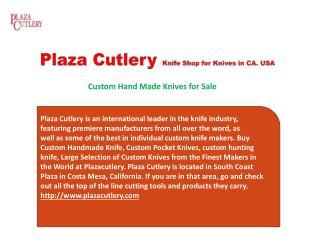 Custom HandMade Knives for Sale
