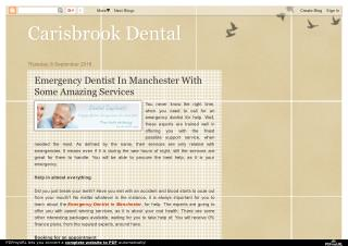Emergency Dentist In Manchester With Some Amazing Services