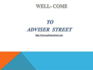 Adviser Street | Long term investment in equity and commodity market