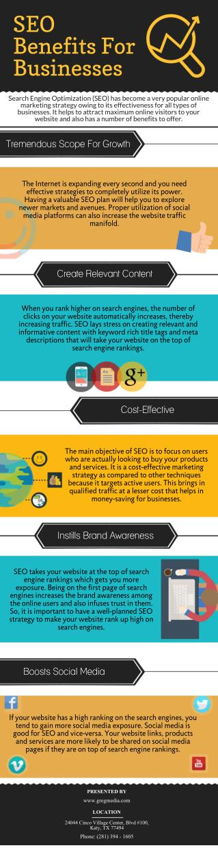 SEO Benefits For Businesses