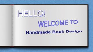 Handmade Book Design