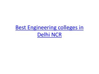 Best Placement Engineering Colleges in Greater Noida