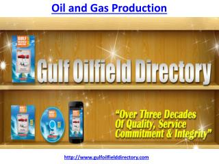 Which is the best Oil and Gas Production company in Dubai