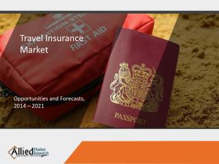 Travel Insurance Market to Reach $28,264 Million, Globally, by 2022
