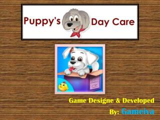 Puppy's Day Care Game for Kids