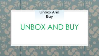 Shop online Kitchen Products  on Unboxandbuy