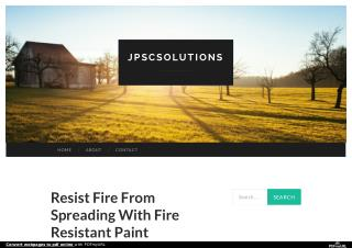 Resist Fire From Spreading With Fire Resistant Paint Spray India