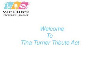 Whitney tribute act