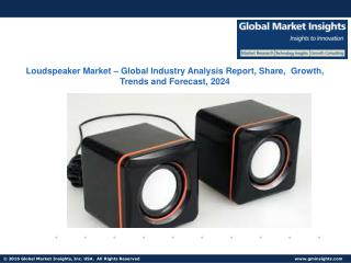 Loudspeaker Market Analysis by Product and Segment Forecasts from 2016 to 2024