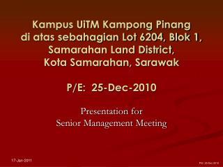 smm presentation (uitm, kuching) _ dec 2010