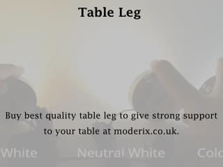 Table Leg - Moderix.co.uk