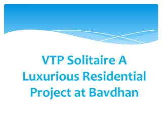 Lavish Apartments in VTP Solitaire Baner by RedCoupon