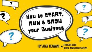How to start, run & grow your business idea