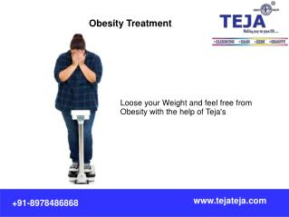 Obesity Treatment and Weight loss Programs @ Teja's