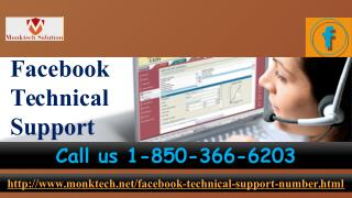Is Facebook Technical Support pleasing for me 1-850-366-6203?