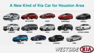 New Kind of Kia Car for Houston Area