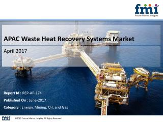 APAC Waste Heat Recovery Systems Market with Current Trends Analysis, 2014-2020