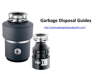 Best Garbage Disposal Buyer's Guide