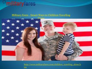 A Good Military Airfare Deals at the Right Time