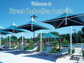 Explore Varieties of Modular Umbrellas at Street Umbrellas Australia