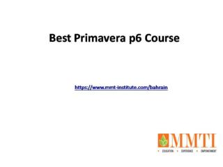 Best Project Management Professional Certification