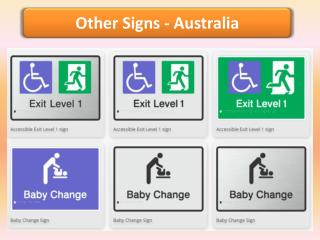 Other Signs - Braille Sign Distributors