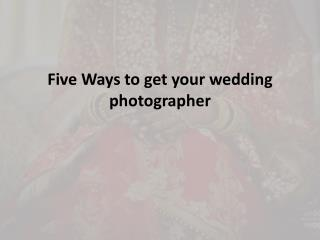 Wedding Photographers Chennai