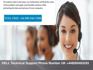 Dell Computer Support Phone Number UK  44-800-046-5288