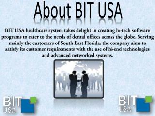 Services and Products by BIT USA