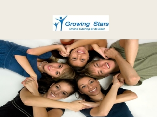 Growing Stars - Online Tutoring & Homework Help