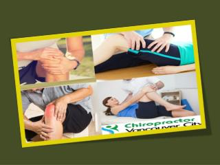 Chiropractic care for Joint Pain