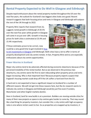 Rental Property Expected to Do Well in Glasgow and Edinburgh.pdf