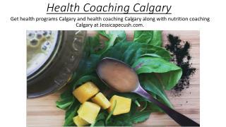 Health Coaching Calgary - jessicapecush.com