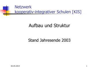 Netzwerk  kooperativ-integrativer Schulen [KIS]