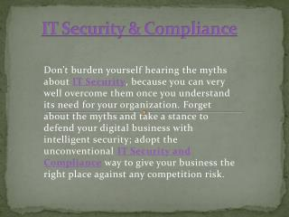 Wintellisys - IT security & compliance