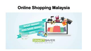 Online Shopping Malaysia
