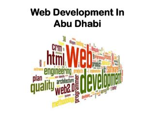 Web Development In Abu Dhabi