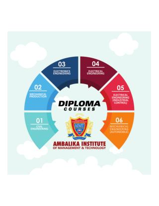 Diploma Courses In Ambalika Institute - Lucknow