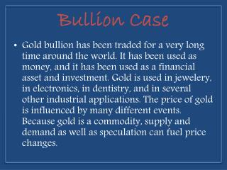 ebay Element Card Gold Bullion Case - Bullioncase.com