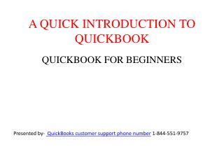 GET FRIENDLY WITH QUICKBOOK