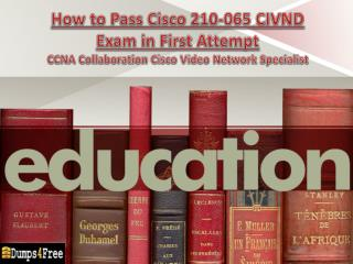 Latest Cisco 210-065 Exam Real Questions and Answers